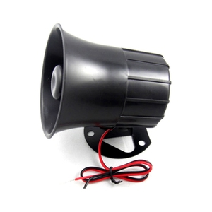 Image 3 - Security DC 12V Outdoor Alarm Siren Wire Loud Alarm Horn 115Db Exterior Sirena Alarma Speaker For Alarm System 15W