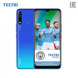 Смартфон TECNO KC8 Spark 4, 6.5'' 1560 x 720 пикселей, 2.0GHz, 4 Core, 2GB RAM, 32GB, up to 256GB flash, 13Mpix+2Mpix/8Mpix
