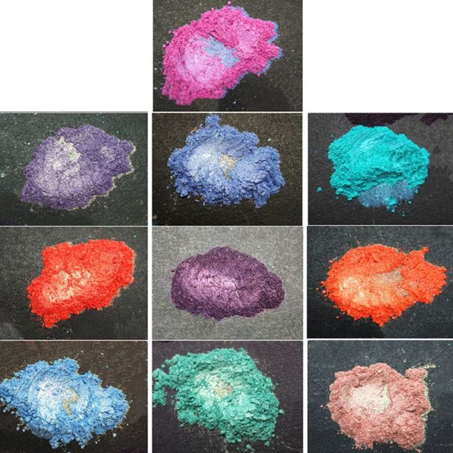 21 Colors Aurora Resin Mica Pearlescent Pigments Colorants Epoxy Resin Mold Jewelry Making jewelry Tools 2