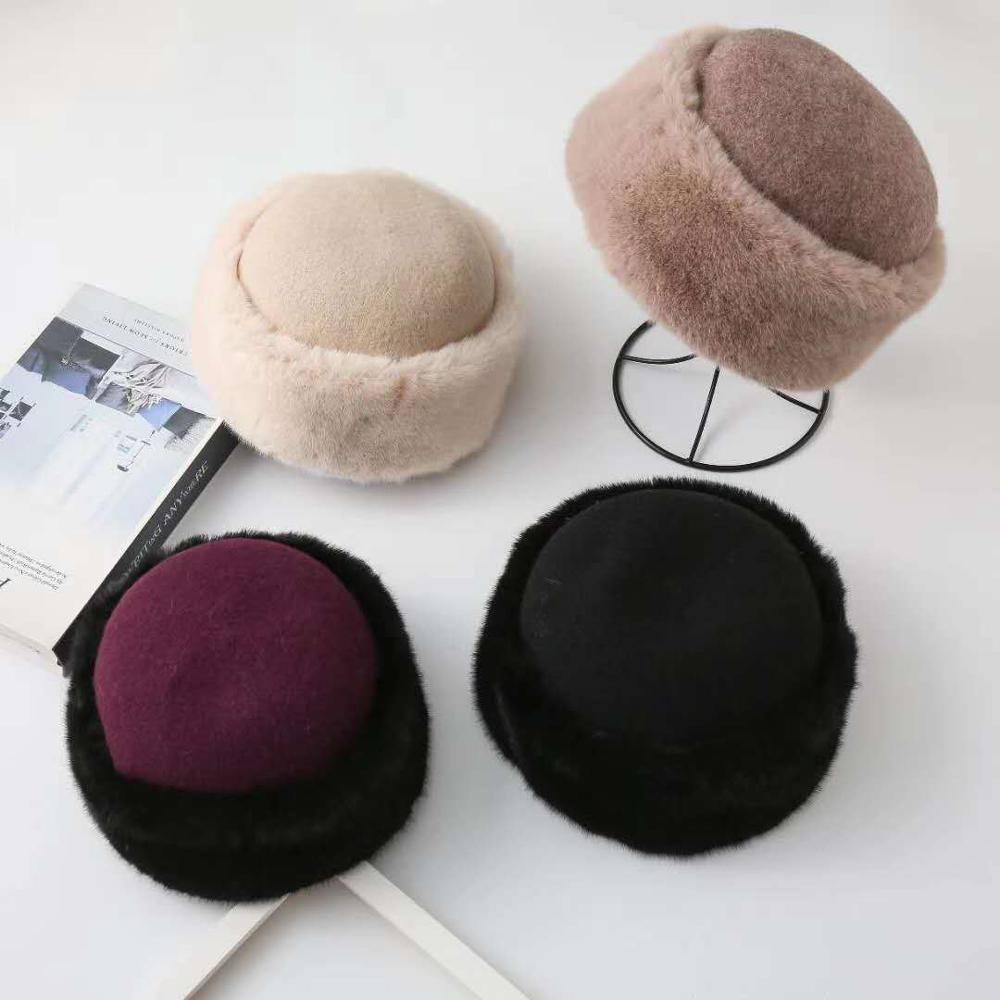 Купить new classic woollen warm soft beret lovely retro autumn winter