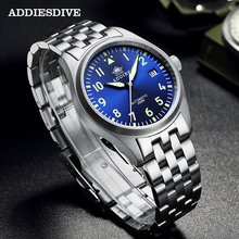 ADDIESDIVE Pilot Watch Automatic Mechanical Diver W
