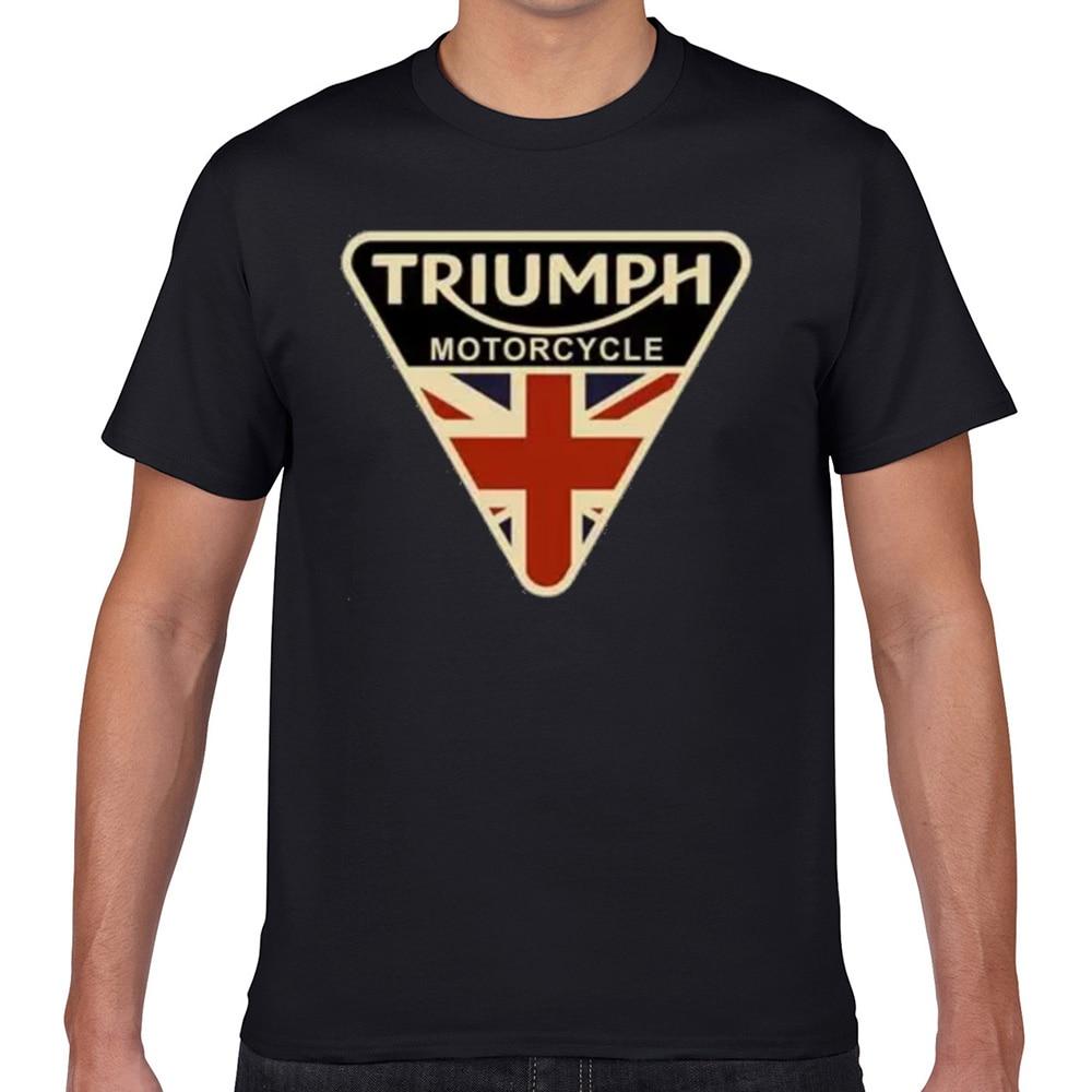 Tops T-shirt Mannen Triumph Motorfiets Sexy Harajuku Geek Print Mannelijke T-shirt Xxxl