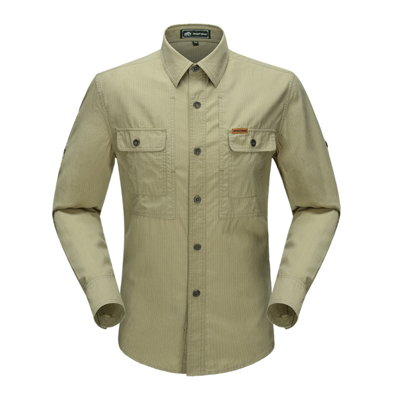 <font><b>3601</b></font> # jeep da Spring And Autumn Youth MEN'S Long-sleeved Shirt Men'S Wear Loose Casual MEN'S Cotton Shirt image