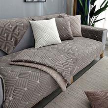Luxury autumn and winter plush sofa cushion for living room