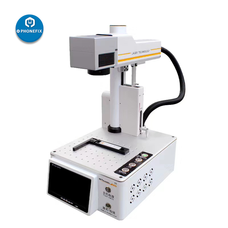 Glass 8 LCD Separater IPhone Repair Making Machine Back Laser XS XR Triangel Separating Cutting For Frame M LCD Max X Remover