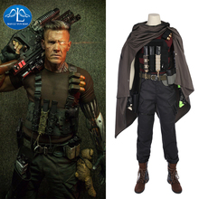 MANLUYUNXIAO Cable Cosplay Nathan Christopher Outfit Halloween Costume For Men Once Upon A Deadpool Charles Summers Custom Made