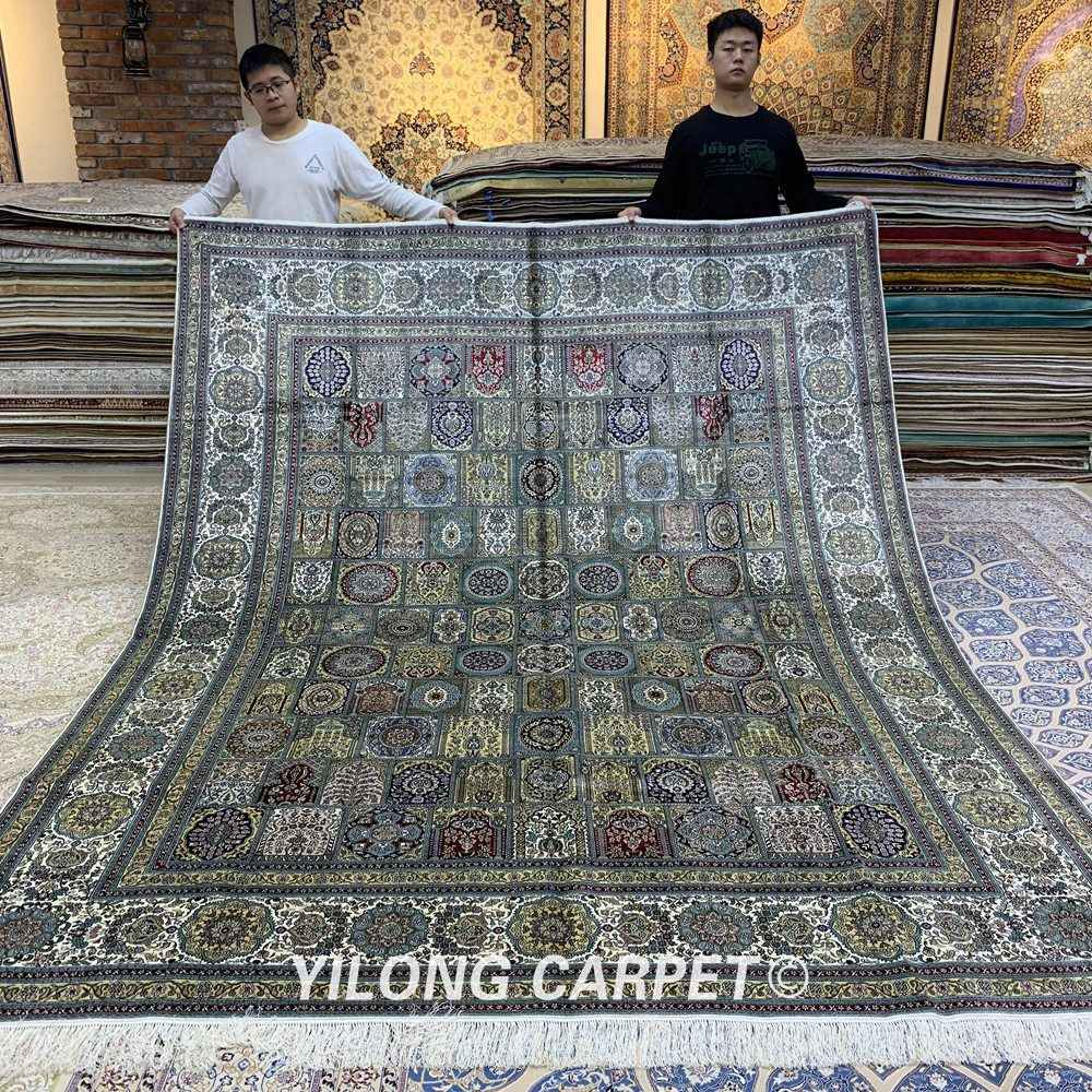 Yilong 8 X10 Silk Persian Nanyang Rug