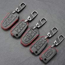 Copertura Della Cassa Chiave dellautomobile Per Peugeot 301 308 408 508 2008 308S 3008 4008 5008 307 Accessori In Vera Pelle keychain Del Sacchetto Del Supporto