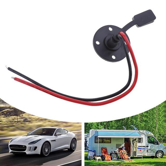 1 adet evrensel SAE uzatma kablosu konnektörü hızlı ayırma kablo demeti araba için pil/güneş pili Transfer vb bakır