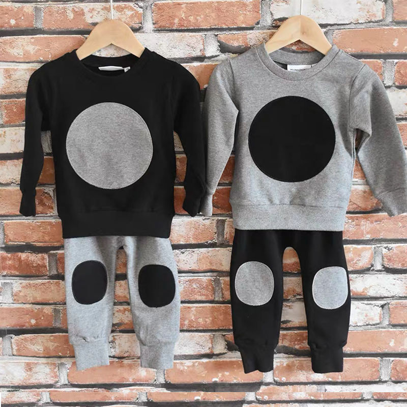 Kids Boys Fall Casual Clothes Set Toddler Boys Fashion Sweatshirt and Harem Pants Kids Boys Fall Pullover Baby Brand Clothes Set