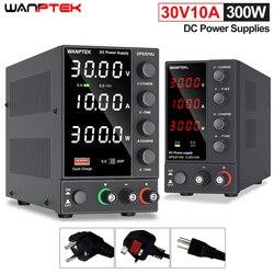 Wanptek USB Adjustable DC Source Power 30V 10A Lab Power Supply Unit 60V 5A Voltage Regulator Stabilizer Switching Power Supply