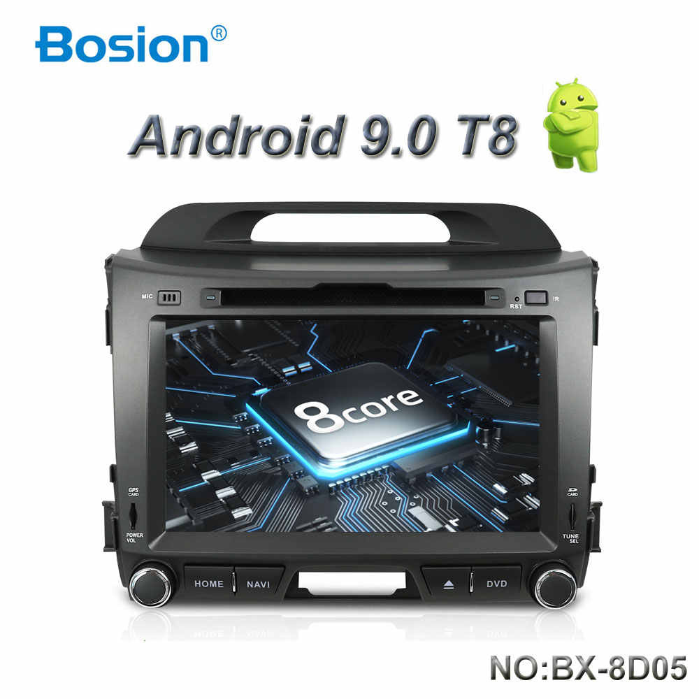 Bosion 2G + 32G אנדרואיד 9.0 DVD לרכב נגן רדיו KIA sportage r 2011 2012 2013 2014 2015 רכב ראש יחידת gps ניווט לרכב סטריאו