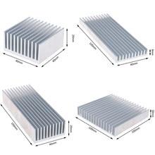 Dissipador de calor quente do radiador da microplaqueta de ic do diodo emissor de luz de alta potência 4 tamanhos