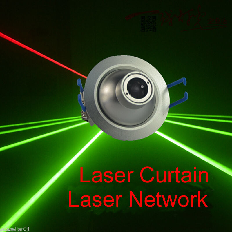 Fat Beam Laser Show Stage Lighting DC 12V Green Laser Module TTL Lazer Curtain