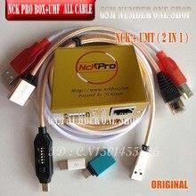 Original Neueste NCK Pro Box/NCK box (unterstützung NCK + UMT 2 in 1) neues update Für Huawei + 15 kabel
