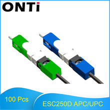 ONTi Wholesales 100PCS/Lot FTTH ESC250D SC APC and