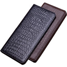 High-end Genuine Leather Magnetic Holster Cover For Motorola Moto One Action/Moto One Vision/Moto One Hyper Phone Case Kickstand(China)