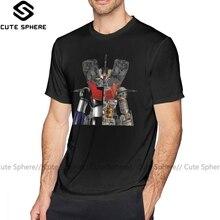 Mazinger Z T Shirt Mazinger Z T-Shirt Fun Big Tee Shirt Mens Print Cotton Short-Sleeve Basic Tshirt