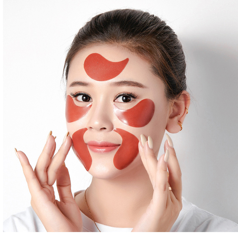 Collagen Eye Patch For Ginseng 60PCS Hydrating Hydrogel Anti Aging Care Eyes Mask Under Korea Gel Patches Remove Dark Circles Q 2