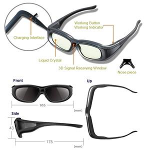 Image 2 - 3D Glasses,3pc/lot Active 3D bluetooth RF Glasses For Sony/Epson LCD 3D Projectors(Tw5200/Tw8515/Tw6510/Tw3020/Tw550/Tw5300)