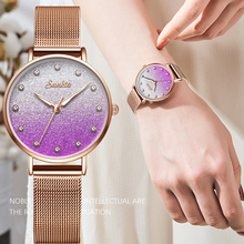 цена на SUNKTA Women Watches Waterproof Brand Luxury Quartz Wrist Watch Dress Fashion Ladies Wristwatches Relogio Feminino Montre Femme