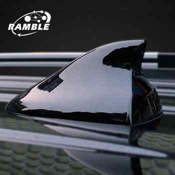 Ramble para Jeep Renegade Cherokee alerón con forma de aleta de tiburón Radio coche Antena FM accesorios de coche Anten Antena tiburón aéreo