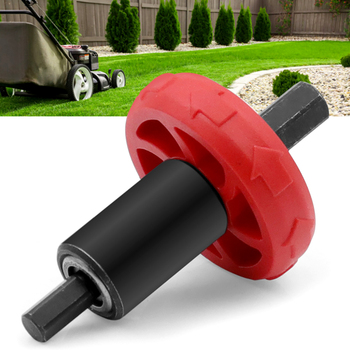 1PC Motor Mower Starter Electric Engine Drill Bit Adapter For Troy-Bilt Plug For Electric Start Capable Handheld Power Equipment twin gears for new eme35 electric starter eme35 start