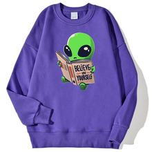 Oversize Sweatshirt Alien Hoody New-Clothing Prints Anime Mens Fashion Hip-Hop Fitness
