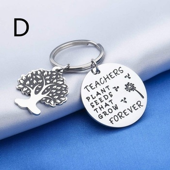 Gifts for Teacher Appreciation Keychain Jewelry Retirement End of Year Gift for Instructor Professor Mentors image