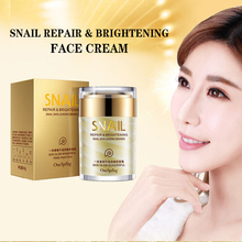 цена на Snail Extract Repair Face Cream Anti Wrinkle Facial Cream Tightening, Whitening, Moisturizing Lifting Skin care onespring