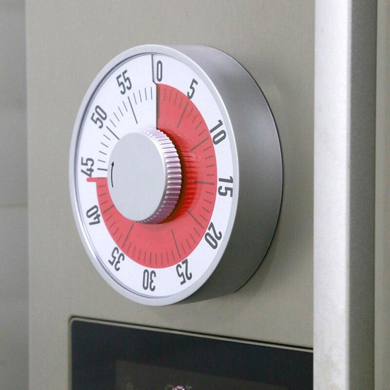 Minuterie de cuisine magnétique mécanique cuisson réveil compteur horloge cuisson rappel Mini rond forme minuterie
