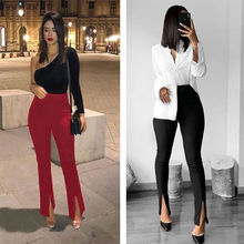 Slim women's trousers