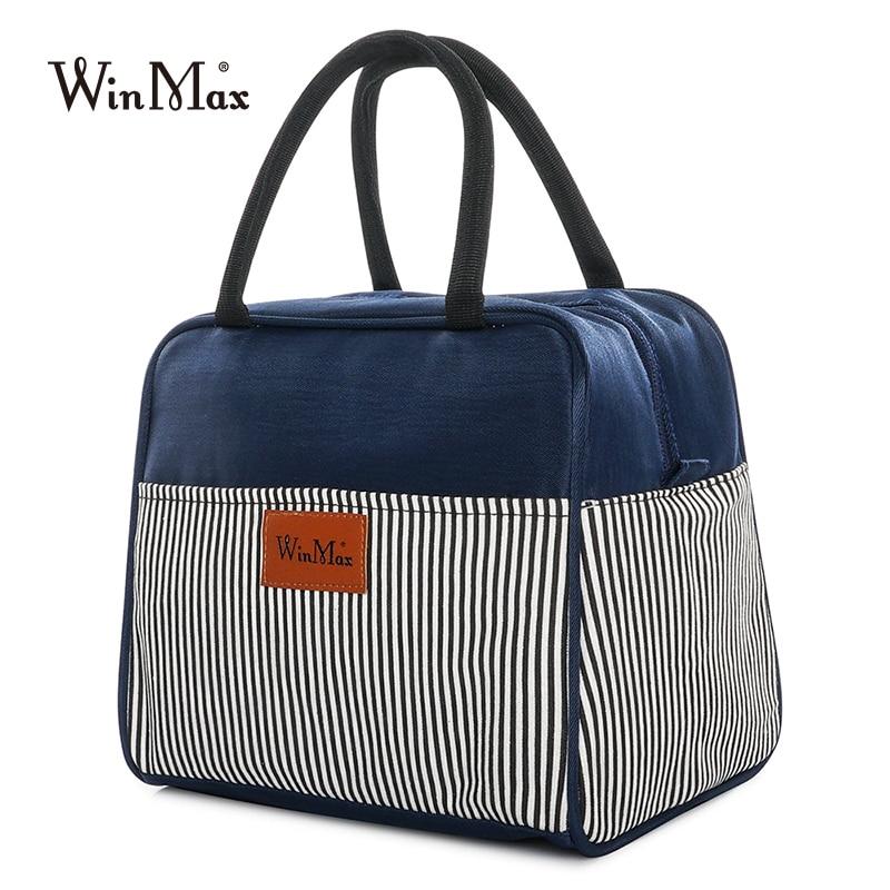 LUNCH BOX Bento adultes Sac-repas Winmax isolé Cool sac Refroidisseur Sac Fourre-tout