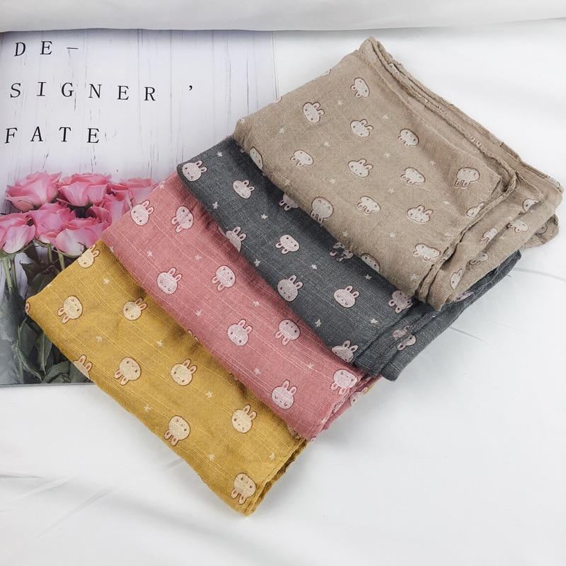Closeout DealsChildren's Scarf Cute Little Strawberry Print Male and Female Baby Cotton Neckerchief Ring Hijab Scarf Fashion Brand Matagorda