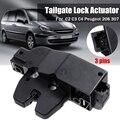 Дверь багажника замок багажника привод центрального замка 9657614780 9646091580 для Citroen C2/C3/C4/C5/C8/XSARA для peugeot 206/307/407/607/8