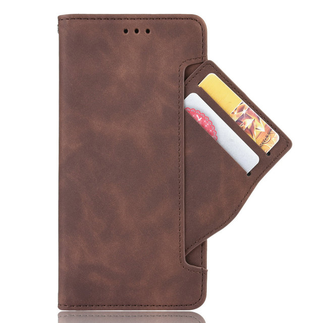 Card Slot Removable Leather 360 Protect for Motorola Moto One Fusion Plus Luxury Case Motorola One Fusion Flip Cover 1 Fusion+