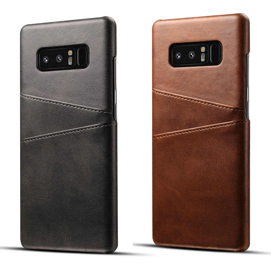 Genuine Real Leather Case For Samsung Galaxy S10 Plus S10e Note 9 8 Cover S9 S8  S7 Edge A7 A10 A20 A30 A40 A50 A70 M10 M20 M30