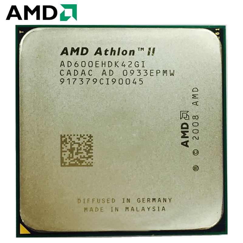 AMD Athlon II X4 600E 600 2.2 GHz Quad-Core CPU Processor 45W AD600EHDK42GI Socket AM3 1