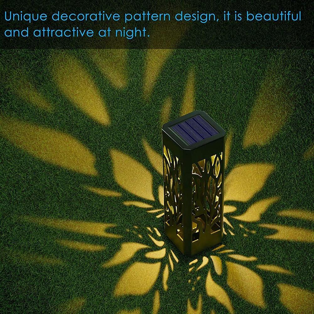 ar livre gramado estacas lâmpada de luz