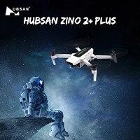 Hubsan Zino 2 + Plus-Dron cuadricóptero RTF con GPS, última Syncleas 9KM FPV con cámara 4K 60fps 3 ejes cardán 35 minutos tiempo de vuelo RC