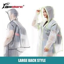 Backpack Raincoat Running Cycling Hiking Waterproof Men Poncho Travel Paragraph Adult