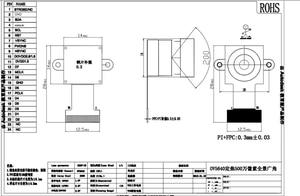 Image 4 - OV5640 verwenden für Sport DV, Intelligente parkplatz ausrüstung 180 grad kamera modul 24PIN 0,5 MM Pitch