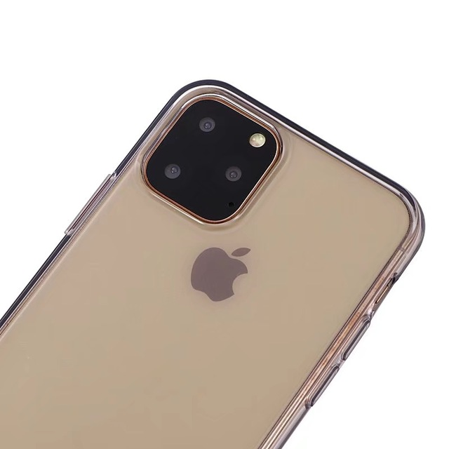 Comanke Transparent Candy Color Silicone Cases for iPhone 11/11 Pro/11 Pro Max 2