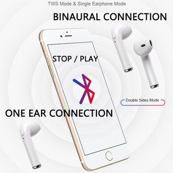 i7s TWS Wireless Earpiece Bluetooth 5.0 Earphones Headphones  Earbuds Headset Earphone For smart Phone Xiaomi Samsung Huawei 3