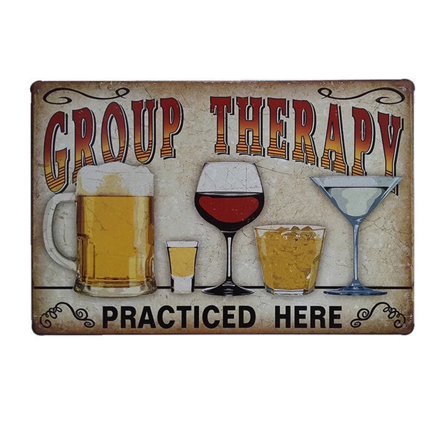 Vintage Wall Beer Iron Sign