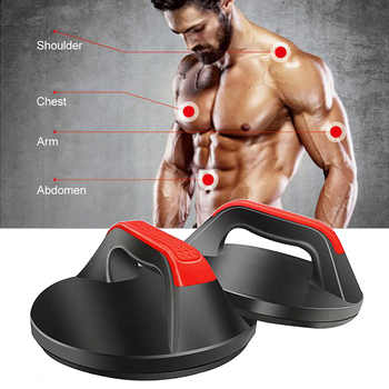 360°Push Up Stands Non Slip Push-up Rack Board Crossfit Exercise Push Up Bars Bracket Fitness Equipment for Home Gym Workout 1