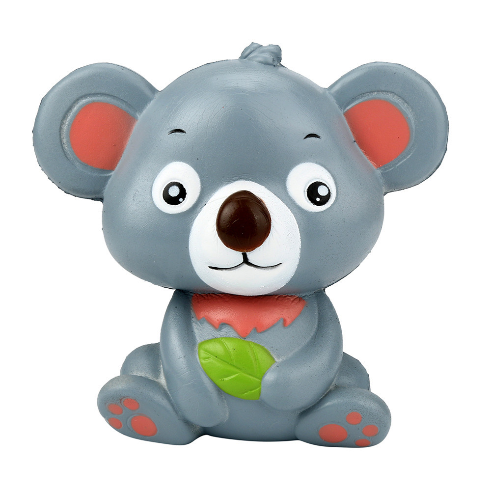 12cm Simulation Cute Koala Cream Scented Toy Slow Rising Squeeze Strap Kid Toys Gift PU Toy антистресс для рук L1223