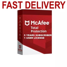 Mcafee Protection - LiveSafe Fast delivery - 5 Years 1 User