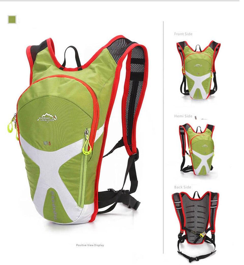 Kokossi 5l ciclismo mochila leve respirável ao