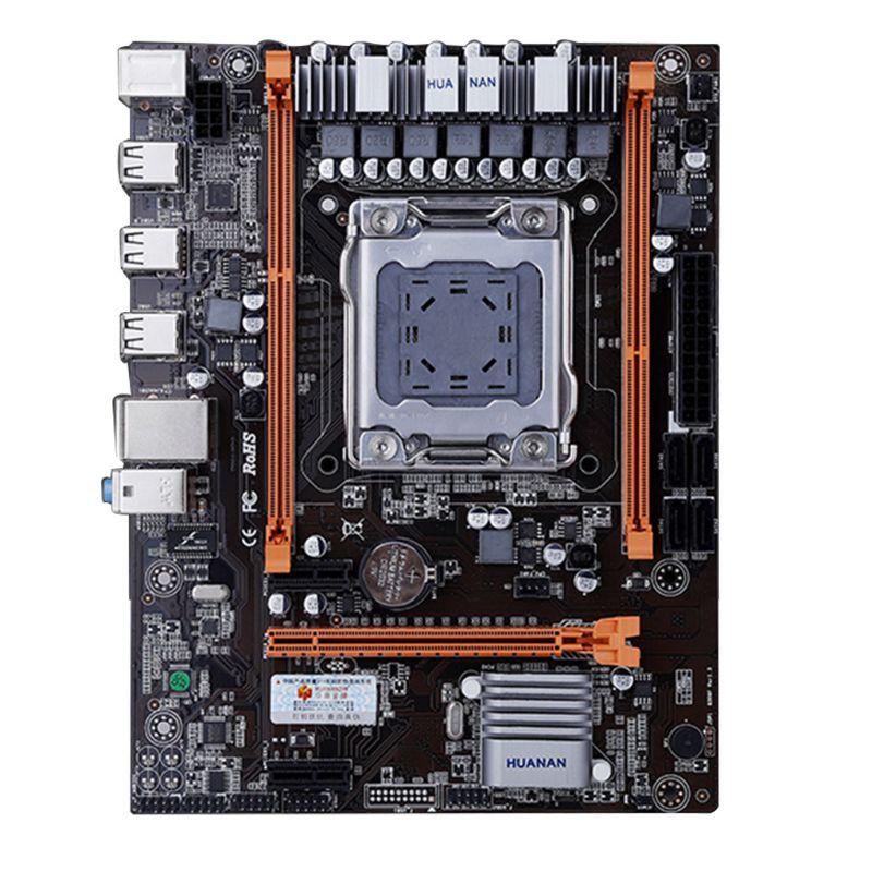 Huananzhi X79 4M Motherboard LGA 2011 USB2.0 SATA2 Support REG ECC Memory And Xeon E5 Processor